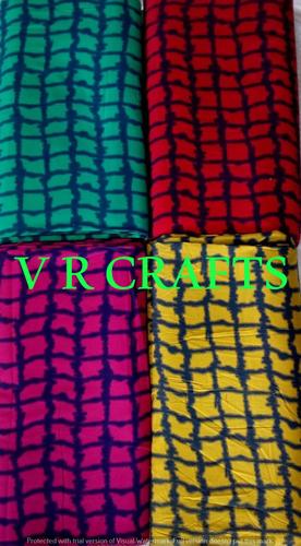 100% Rayon Printed Fabric