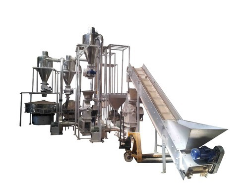 Reliable Spice Grinding Plant