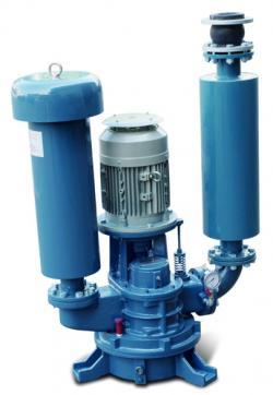 Vertical Blower (Pressure Conveyance)