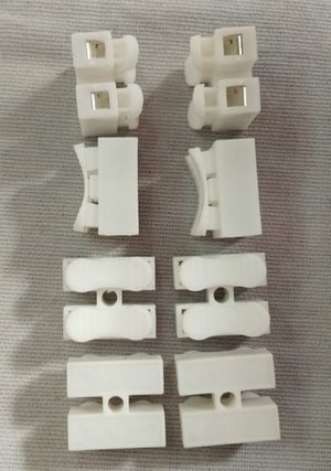 2 Way Pushfit Wire Connector