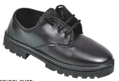 Black Girls School Shoes