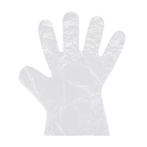 Customized Polythene Hand Gloves