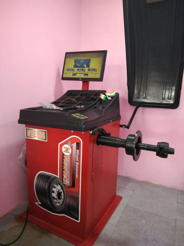 Wheel Balancer with LCD