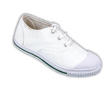 White Boys School Shoes
