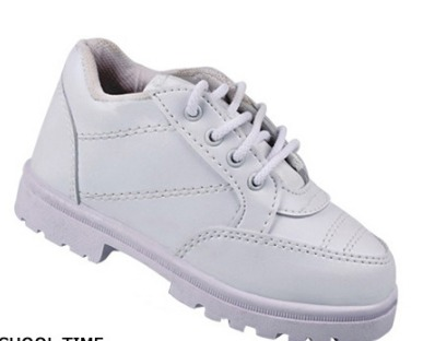 White Oxford School Shoes