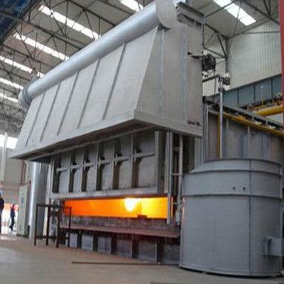Hydraulic Tilting Aluminium Melting Skelner Furnace - Entec
