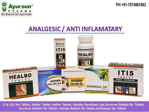 Ayurvedic Analgesic/Anti Inflamatary Medicine