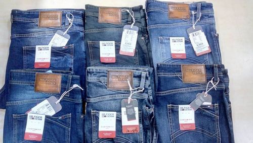 Branded Jean With Bill