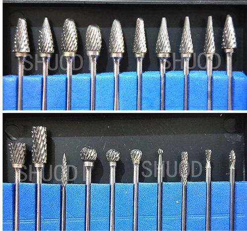 Tungsten Carbide Burs Steel Dental Burs Set at Best Price in