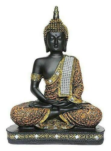 Brass Buddha Showpiece Statue
