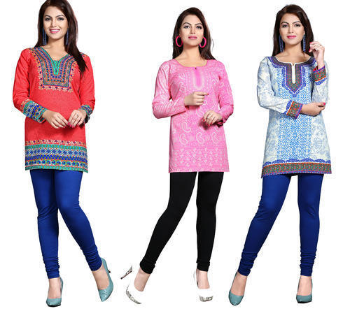 Beautiful Design Short Kurtis