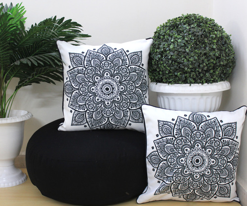 Digital Printed Mandala Floor Cushion Combo Set