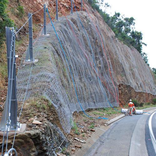 Zinc Coated Fall Protection Net