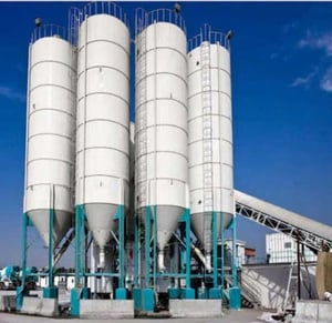 Fly Ash And Cement Silo