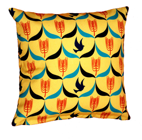 Digital Birds Printed Design Cushion Covers