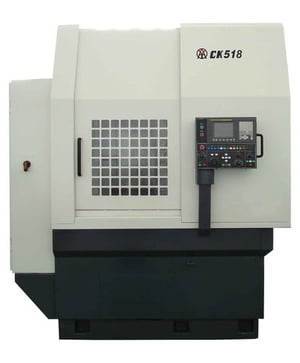 Good Consistency CNC Vertical Turret Lathe For Metal Cutting