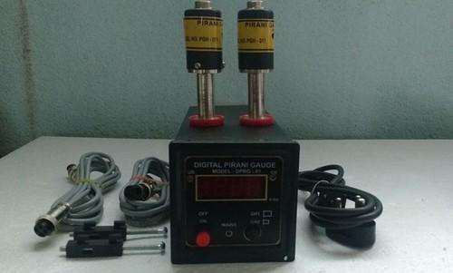 Pirani Vacuum Gauges With Digital Display Unit