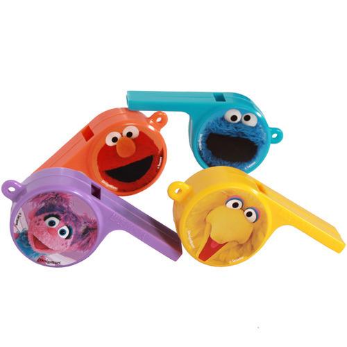 Vibrant Colors Birthday Whistle