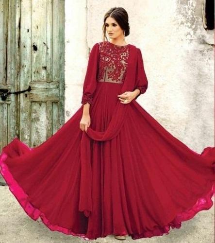 9286d54ca9 Ladies Party Wear Designer Gown in Surat, Gujarat - INDIAN BEAUTY ...