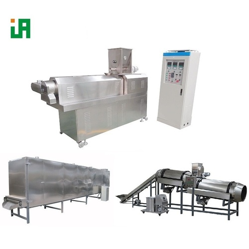 Puffed Cereal Basing Fresh Water Floating Fish Feed Machinery