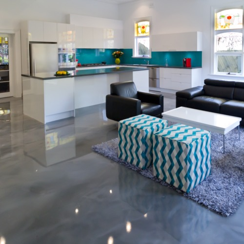 Decorative Pearlescense Metallic Epoxy Flooring Services Riyansh