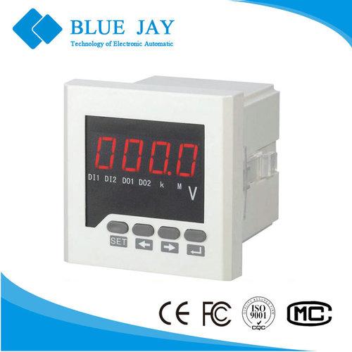72x72mm BE 72 AV AC LED Single Meter