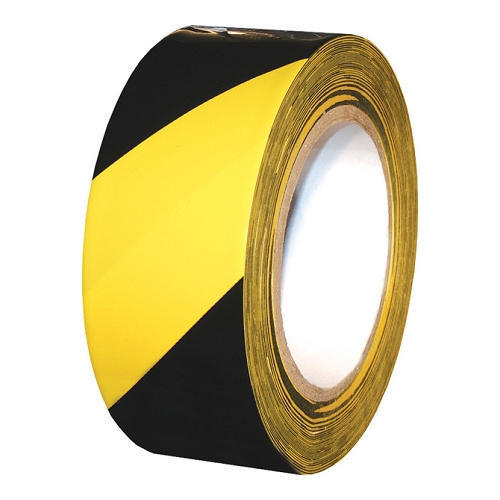 Yellow And Black Safety Tape