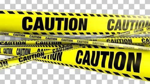 Yellow Barricading Safety Tape