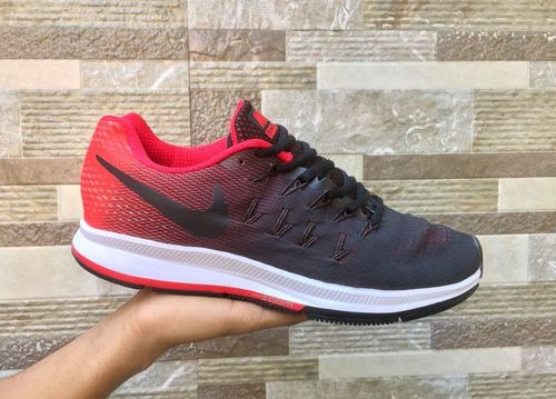 Reds Black Nike Sports Shoes For Men