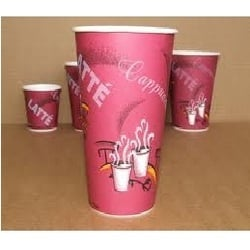 Hot Coffee Paper Cups