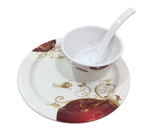 Designer Printed Melamine Plate