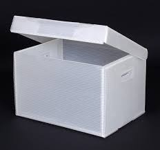 Plastic Corrugated Storage Boxes