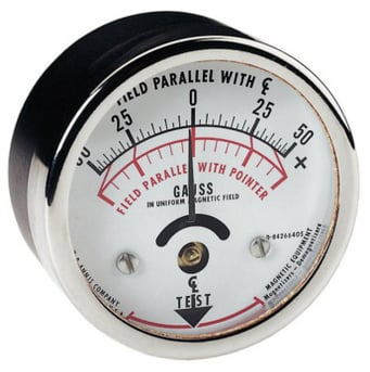 Gauss Meter Field Parallel With Pointer at Best Price in Ahmedabad, Gujarat    Measuring Tools Centre
