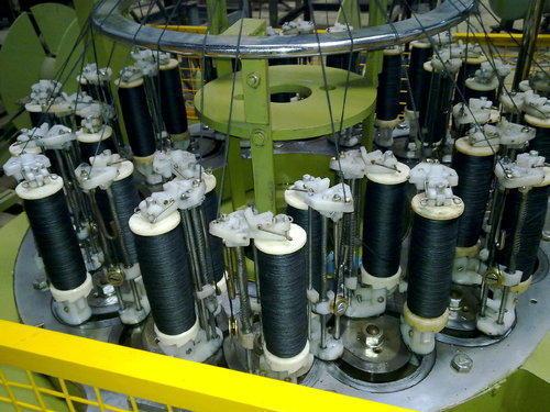 Vertical Braiding Machine Model