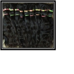 Single Round Remy Human Hair