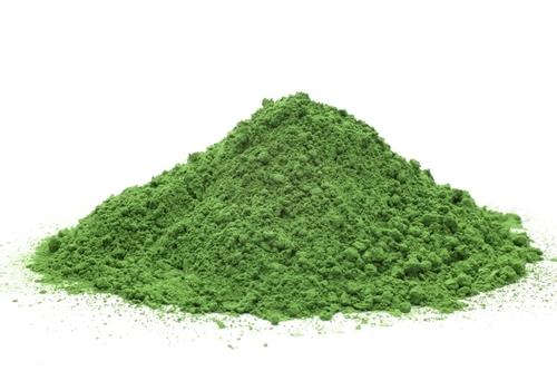 Fresh Green Moringa Powder