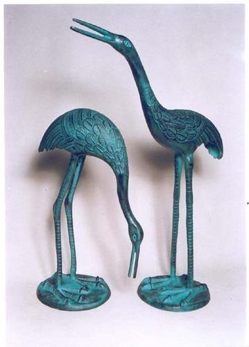 Low Price Crane Pair Sculpture
