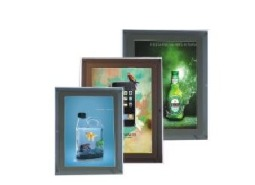 LED Crystal Slim Light Frames