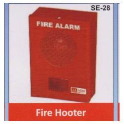 High Performance Fire Alarm Hooter