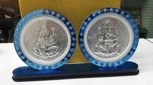 Silver Frame And Gift Article