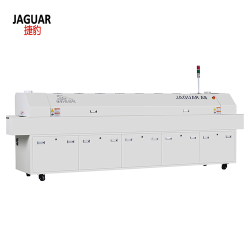 Hot Air Lead Free Reflow Oven 6 Heating Zones