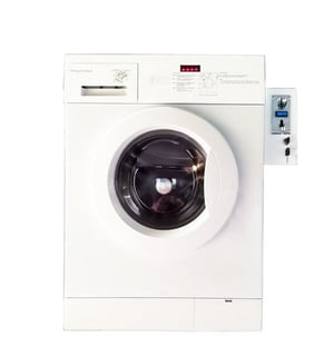 Coin Operated Self-Service Commercial Laundry Machine