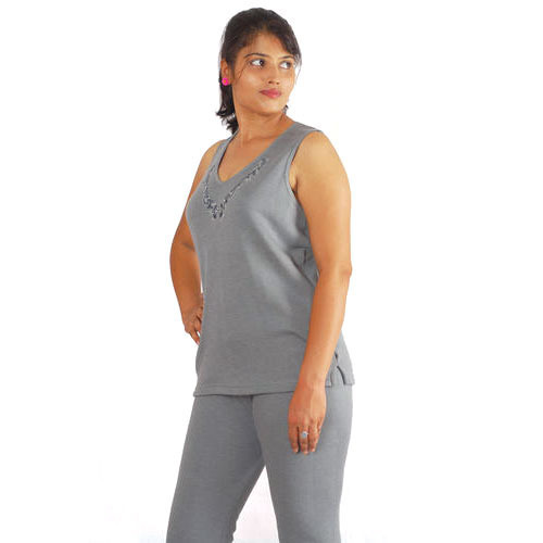 Woman Grey Thermal Wear
