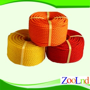 Colored PP Twisted Rope
