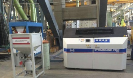 Large Capacity Waterjet Abrasive Cutting Machine - MARUTI