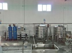 Mineral Water Filtering Plant