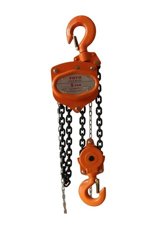 Double Enchanced Body Chain Hoist Certifications: Iso9001