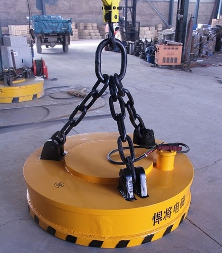 Easy To Operate Heavy Duty Electromagnet Lifter