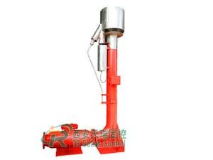 Oilfield Mud Cleaning Flare Ignition Device with Natural Gas (LPG) Ignition Media