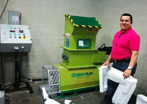 Styrofoam Recycling Machine Of Greenmax Mars C200 At Best Price In California City California Greenmax Recycling